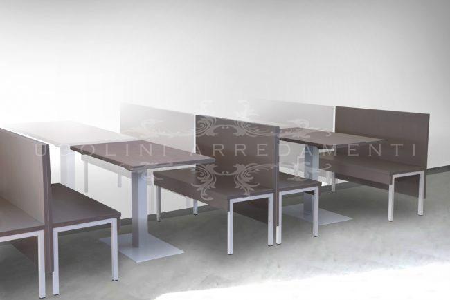 Panche Per Fast Food.Set Tables And Benches Archivi Ugolini Arredamenti