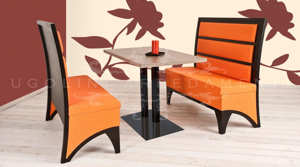 Tavoli Da Locali Pubblici : Panca set tavoli e panche in metallo per locali pubblici