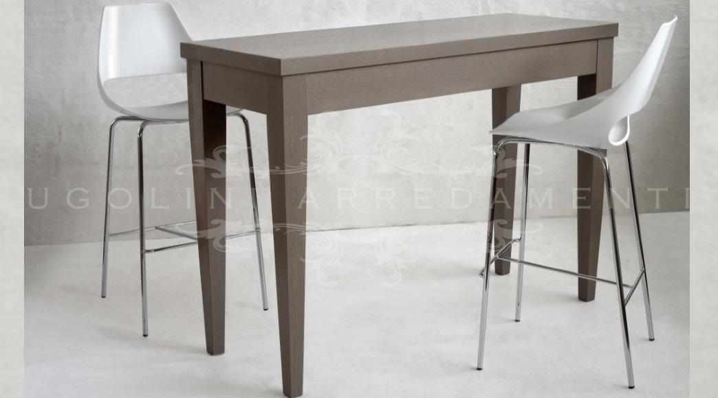 Tavolo tavolo alto per bar e gelaterie