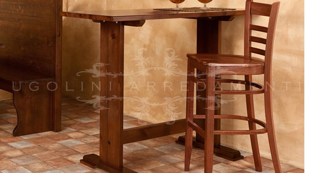 Tavolo tavoli e sgabelli alti da bar e pub