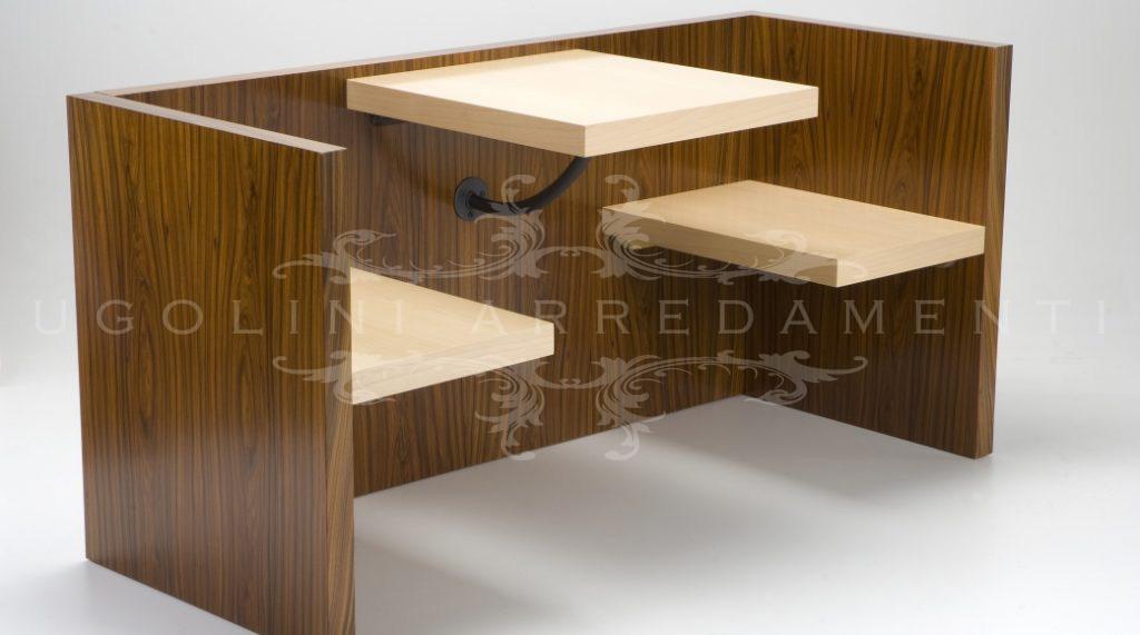 Panca 145 panca modulare in legno per bar - Panche e tavoli in legno per pub ...