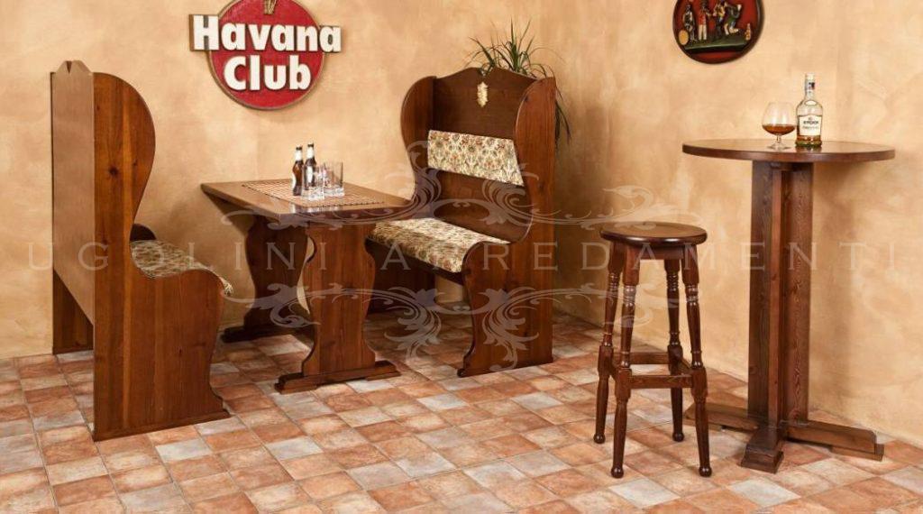 Panca 075 set tavoli e panche per pub in legno per - Panche e tavoli in legno per pub ...