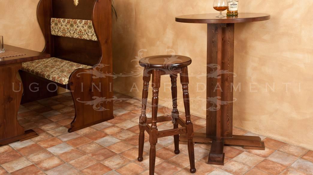 Tavoli Alti Legno : Tavolo tavoli alti da bar in legno