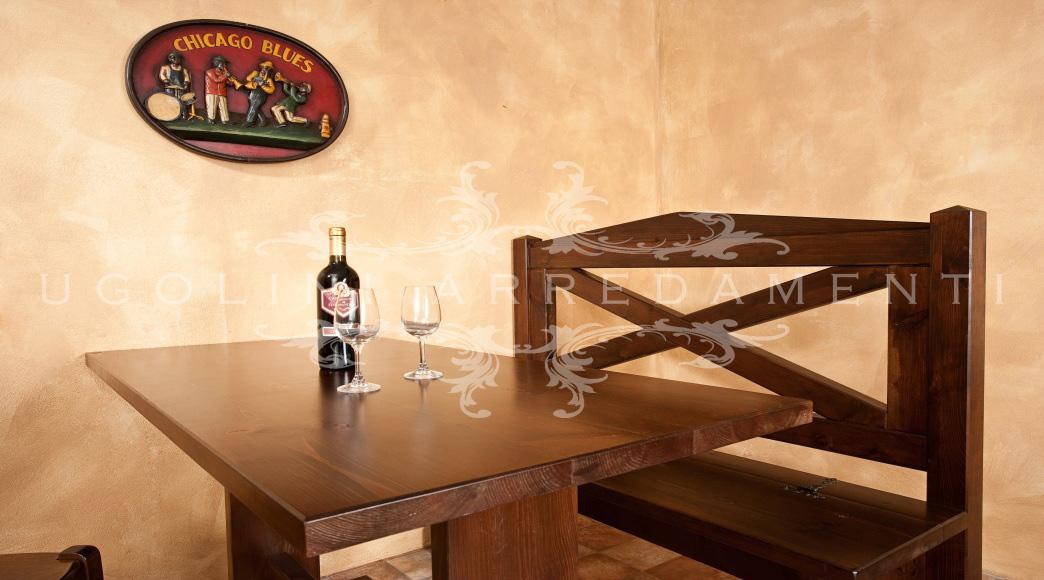 Panche Legno Per Pub.Panca 030 Set Tavoli E Panche E Sedie Per Pub E Ristoranti