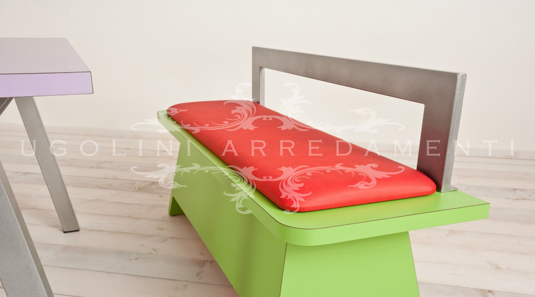 Panca set tavoli e panche per fast food e gelaterie
