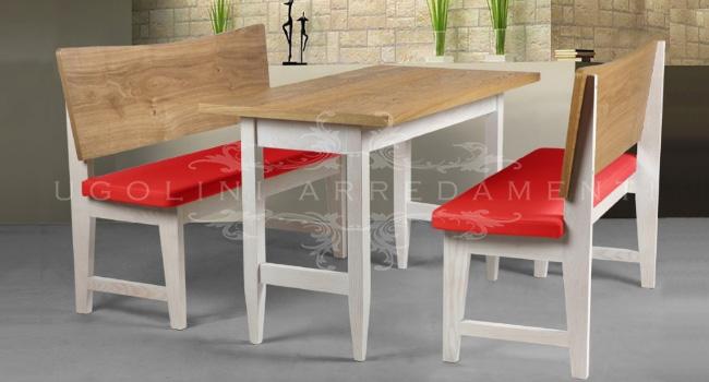 set tavoli e panche